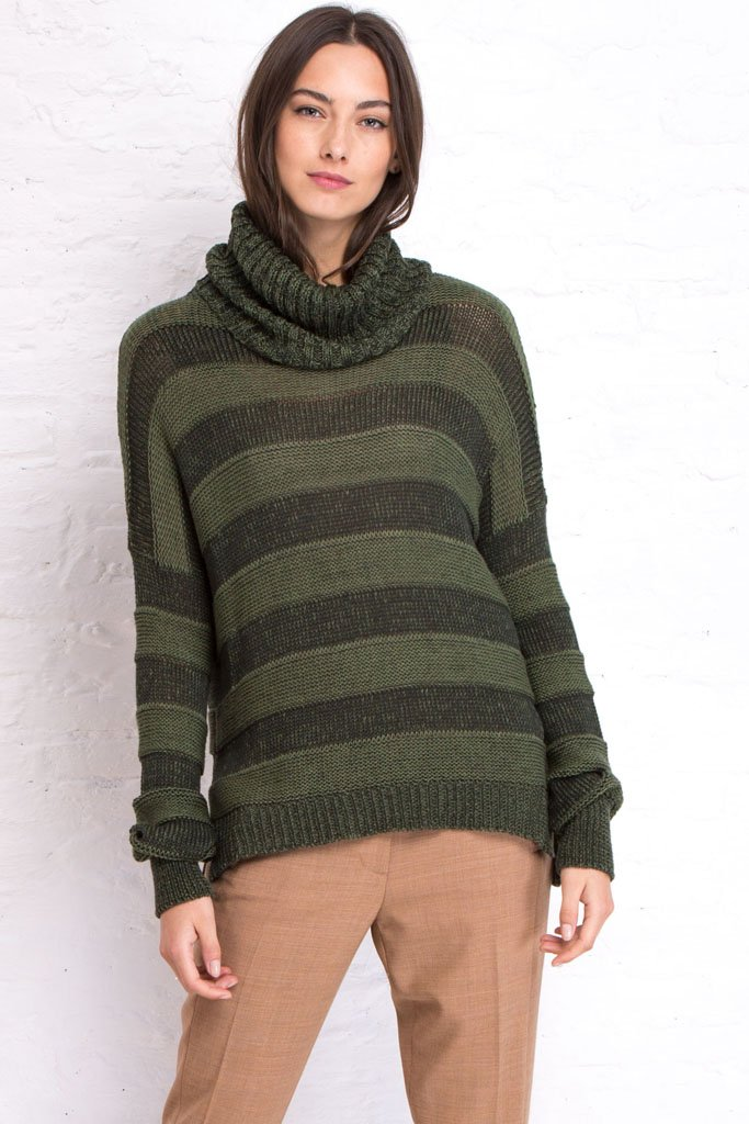 SKYE COWL NECK COTTON