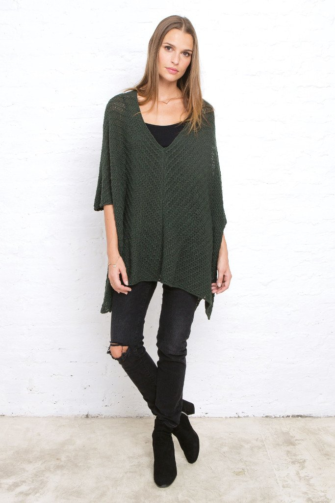 JASPER PONCHO COTTON
