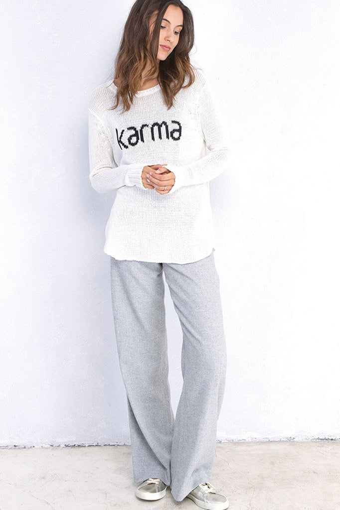 KARMA CREWNECK COTTON
