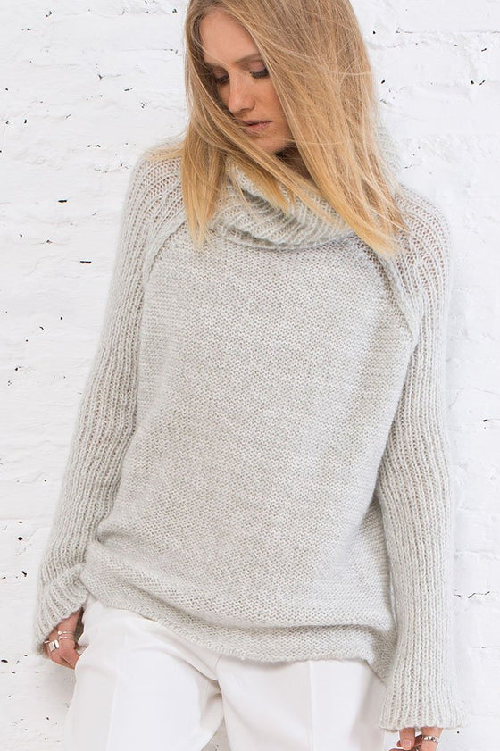 Women's Appalachia Turtle Neck Sweater | Wooden Ships Knits