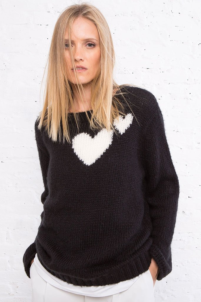 Women's Beloved Chunky Crew Sweater | Wooden Ships Knits