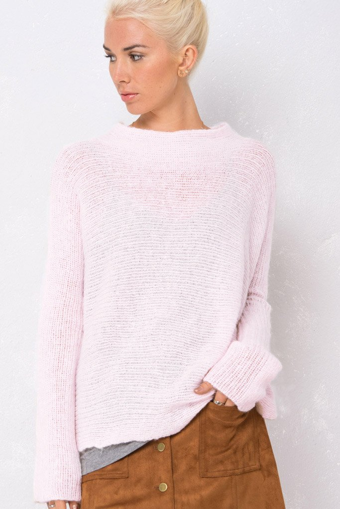 Women's Kelly Ribbed Ruana Lightweight Sweater | Wooden Ships Knits