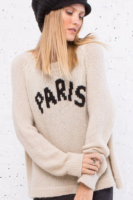 PARIS SWEATSHIRT CREW