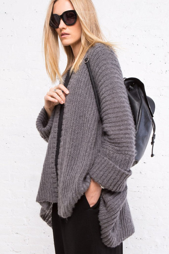 Women's Sonya Rib Cardigan Sweater | Wooden Ships Knits