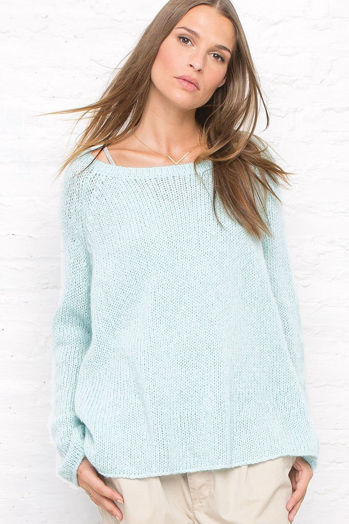 Women's Boyfriend Raglan Sweater | Wooden Ships Knits