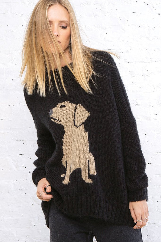 Women's Labrador Pullover Sweater | Wooden Ships Knits