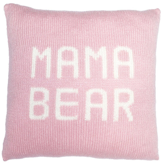 MAMA BEAR PILLOW COVER 18""