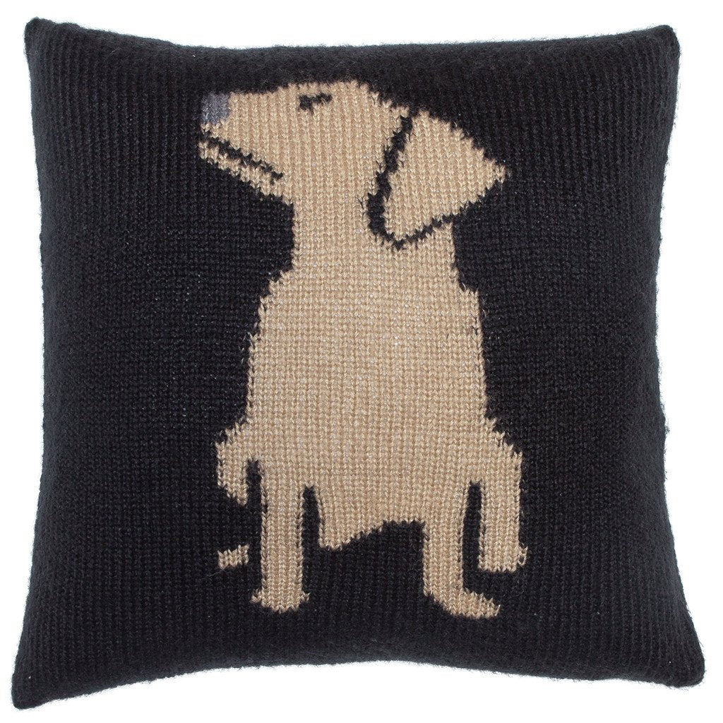 Labrador Knit Pillow Cover 18"