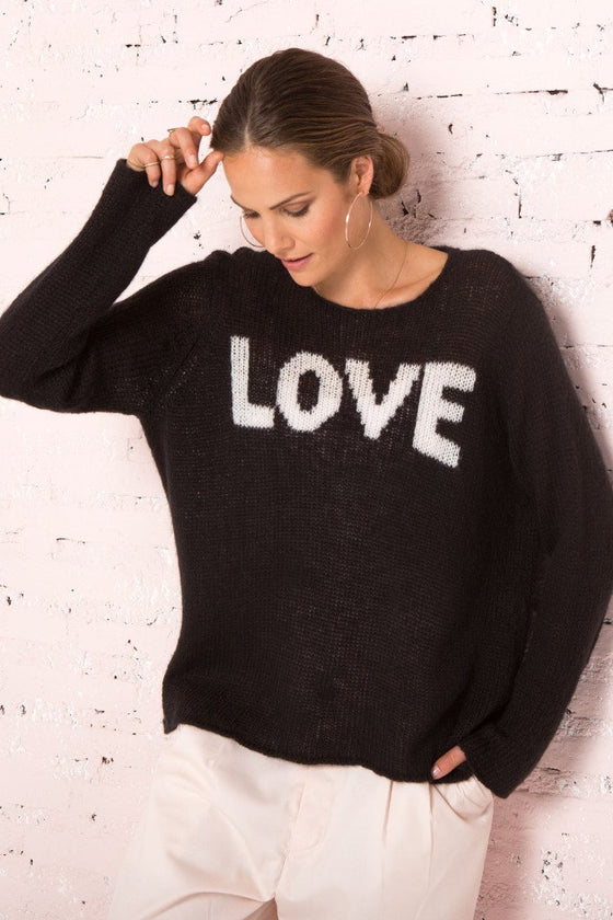 Women's Lightweight Love Sweater | Wooden Ships Knits