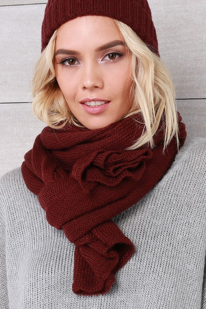 Women's Hamptons Extra Large Cozy Wrap Accessories | Wooden Ships Knits