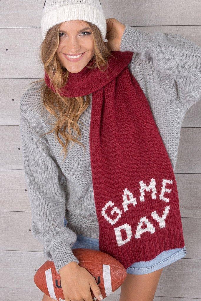 Women's Game Day Scarf | Wooden Ships Knits