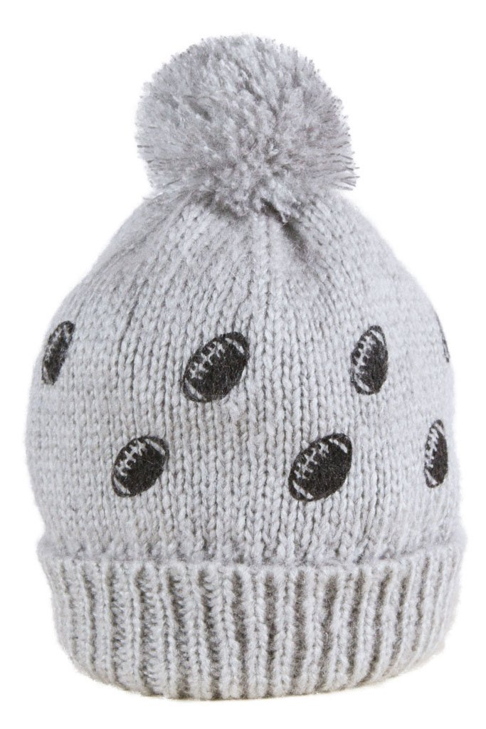 Women's Mini Footballs Pom Pom Hat | Wooden Ships Knits