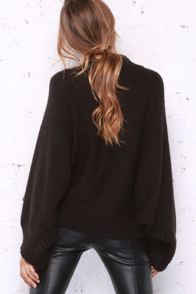 Women's Allie Poncho Sweater's | Wooden Ships Knits