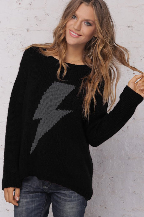 Women's Bolt Crewneck Sweater's | Wooden Ships Knits