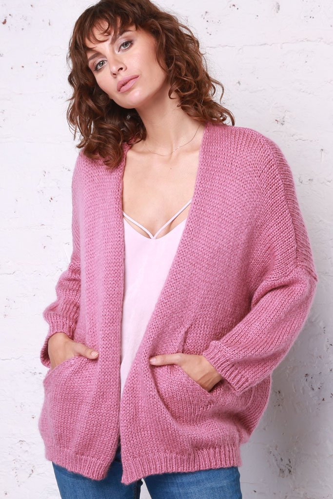 Women's Boyfriend Cardigan Lightweight Sweater | Wooden Ships Knits