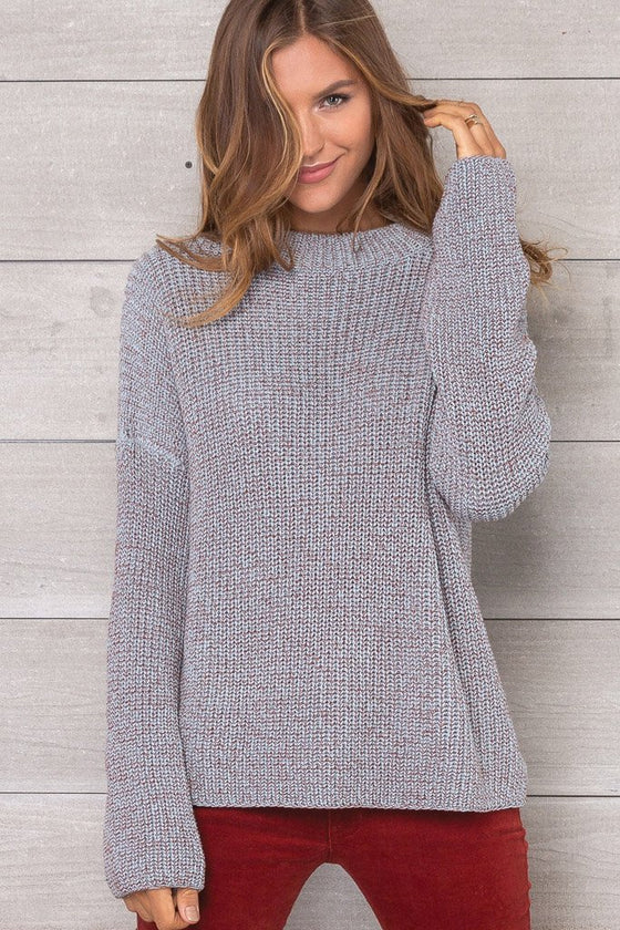 Women's Briar Rose Crewneck Cotton Sweater | Wooden Ships Knits