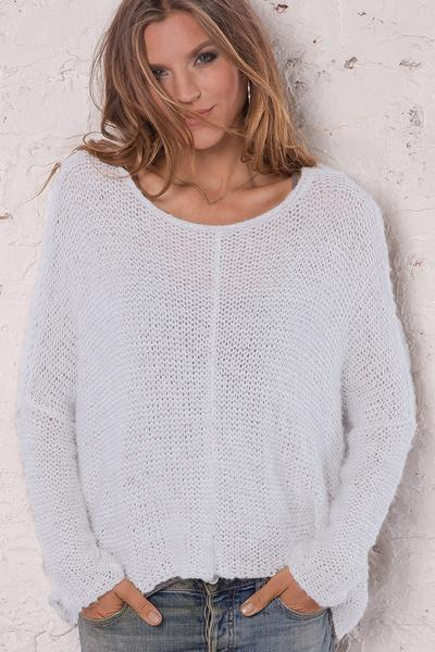 Women's Elija Slouchy Top  Sweater's | Wooden Ships Knits