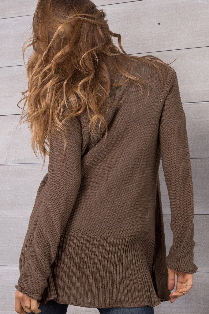 Women's Eryn Cardigan Cotton Sweater | Wooden Ships Knits