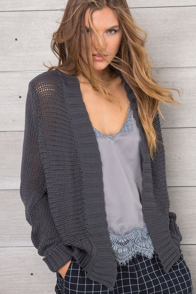 Women's Haden Cardigan Cotton Sweater | Wooden Ships Knits