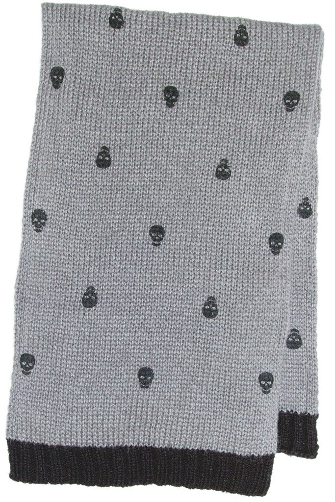 Wooden Ships By Paola Buendia Womens Mini Skull Scarf Wooden