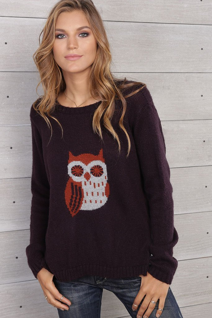 Women's Poe Crewneck Sweater's | Wooden Ships Knits