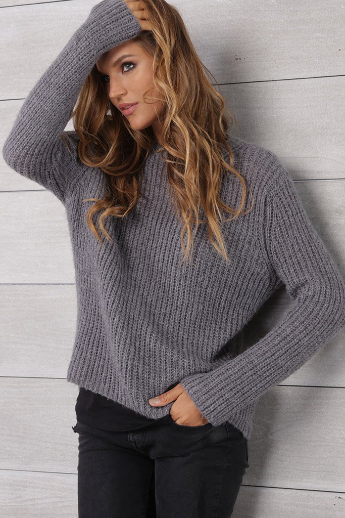 Women's Raine Crewneck Lightweight Sweater | Wooden Ships Knits