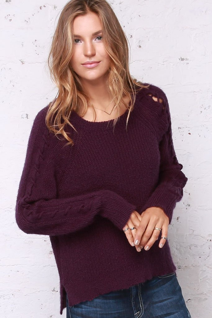 Women's Ramsey Raglan Sweater's | Wooden Ships Knits