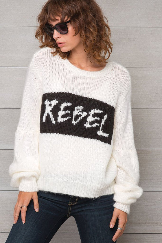 Women's Rebel Top Sweater's | Wooden Ships Knits