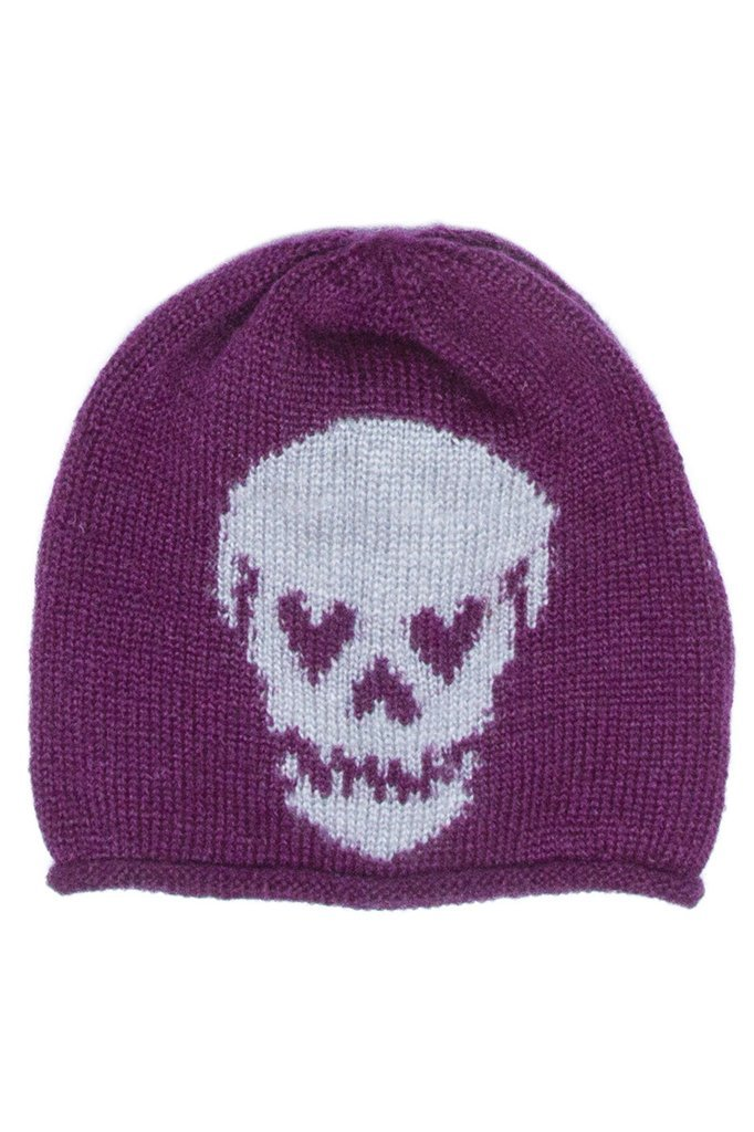 Women's Skull Roll Beanie Accessories | Wooden Ships Knits