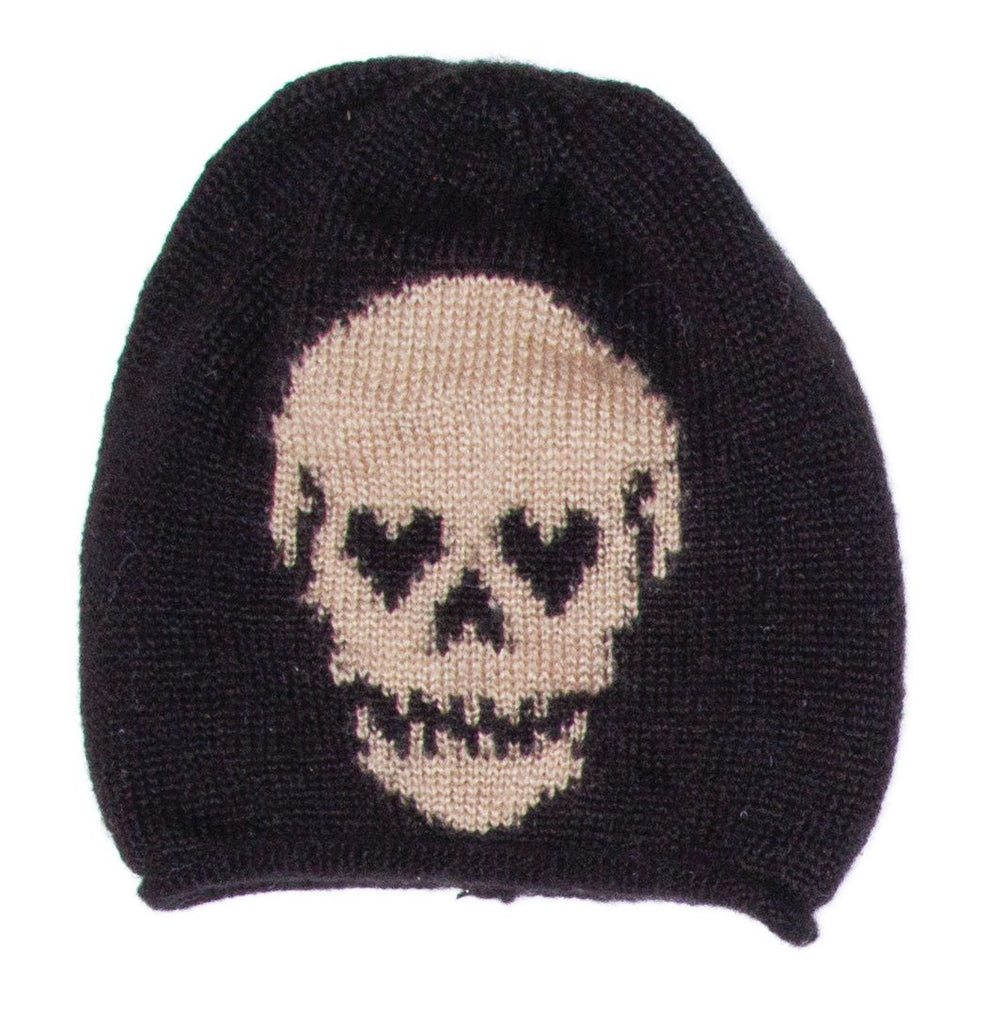 Women's Skull Roll Beanie Sweater's | Woodden Ships Knits