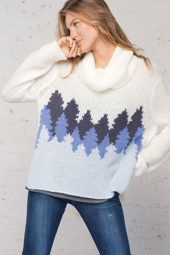 Women's Avalon Cowlneck Sweater's | Wooden Ships Knits