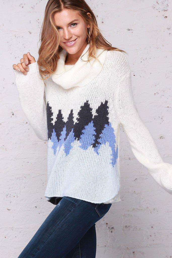 Wooden Ships by Paola Buendia | Women\'s Avalon Cowlneck Sweater\'s ...