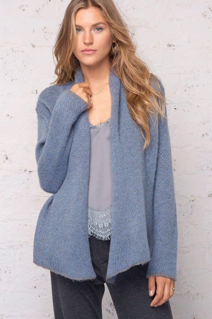 Women's Dylan Wrap Cardigan's | Wooden Ships Knits