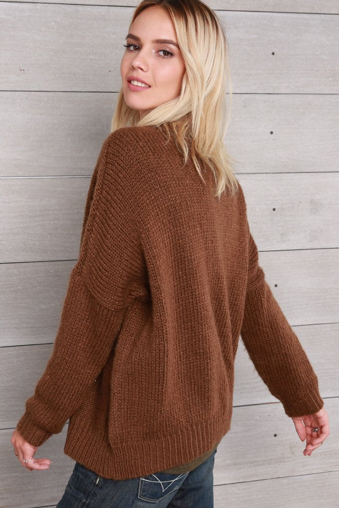 Women's Fisherman Cable Pullover Sweater | Wooden Ships Knits