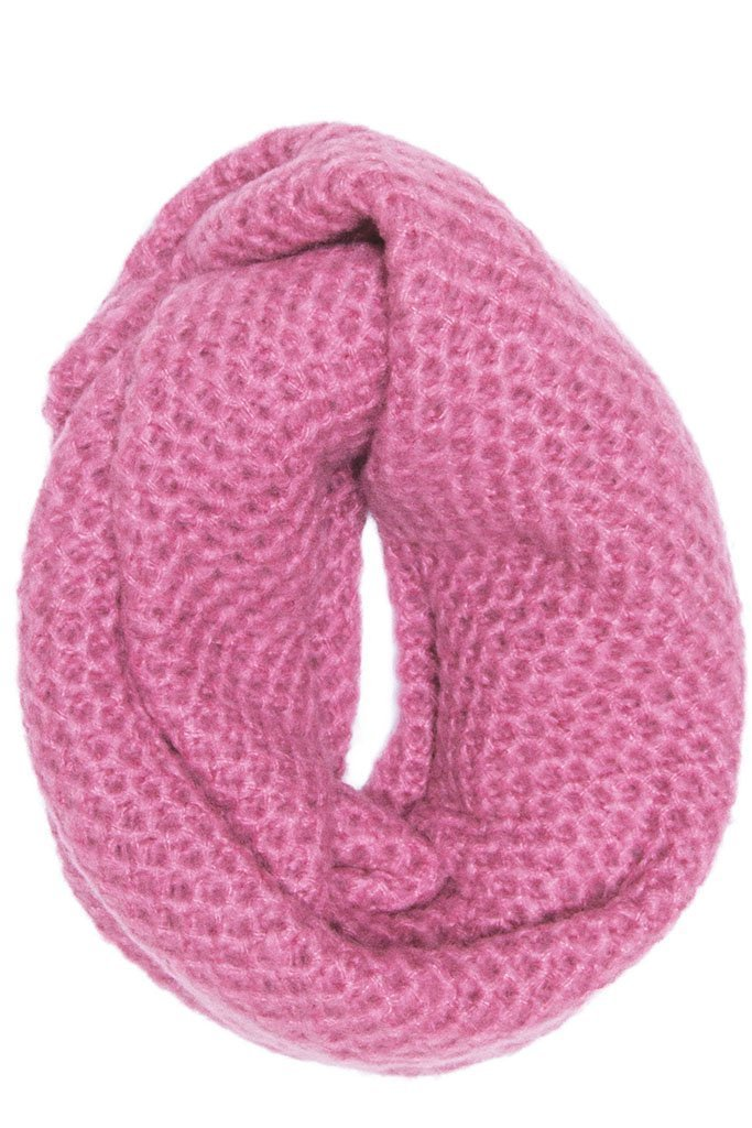Women's Honeycomb Eternity Scarf| Wooden Ships Knits