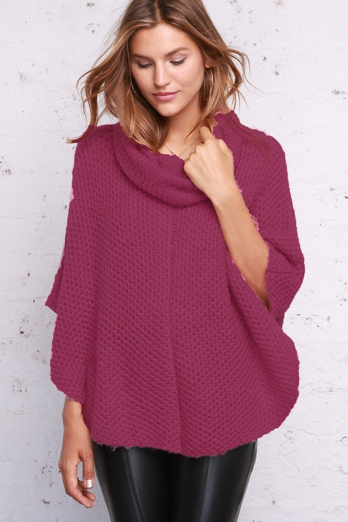 Women's Honeymoon Poncho's | Wooden Ships Knits