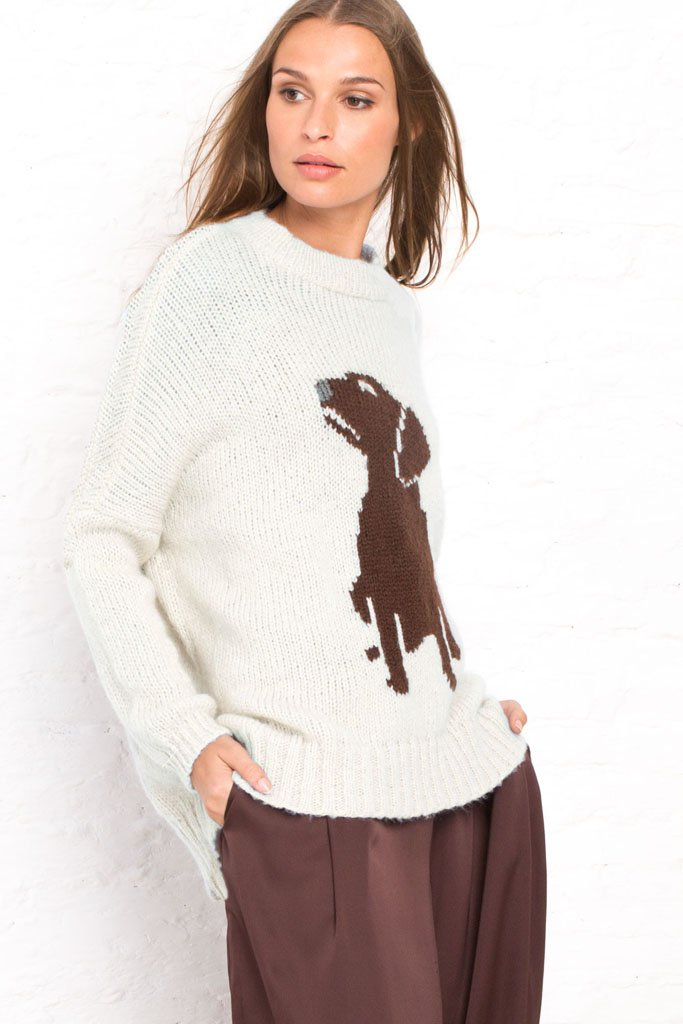 Women's Labrador Pullover Sweater's | Wooden Ships Knits