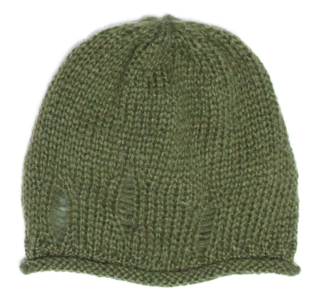 Women's Oliver Distressed Beanie Hat | Wooden Ships Knits