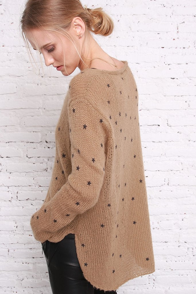 Women's Stella V-neck Sweater's | Wooden Ships Knits