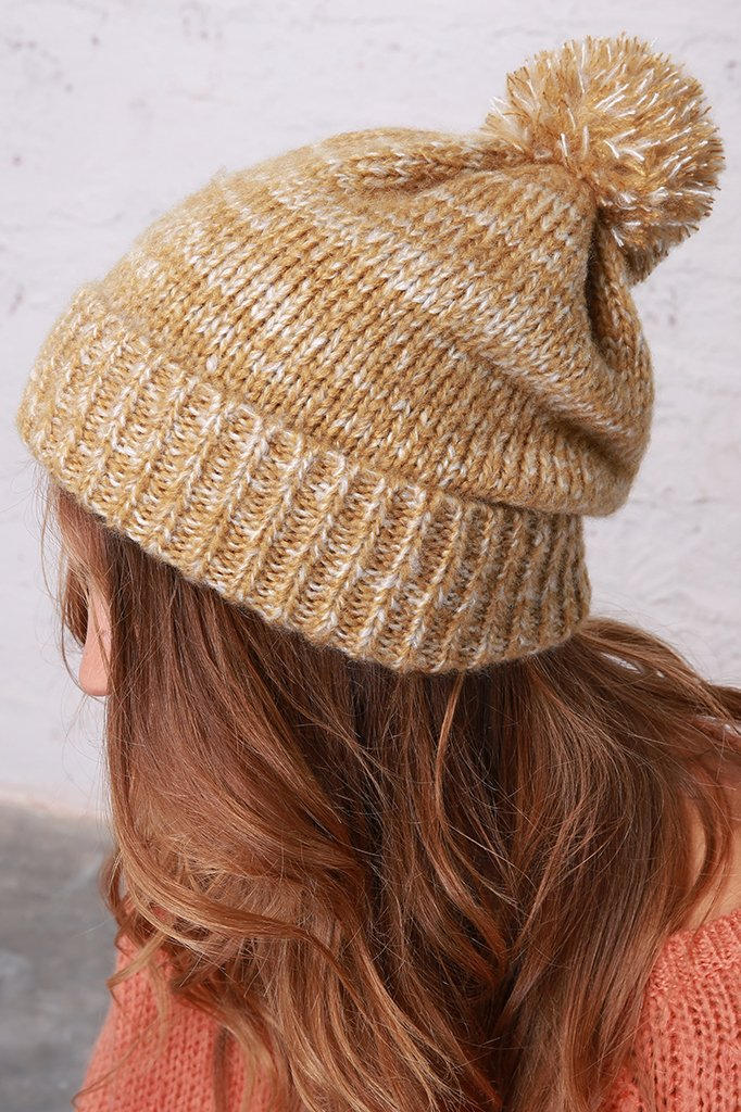 Women's Woodland Hat Marl Accessories | Wooden Ships Knits