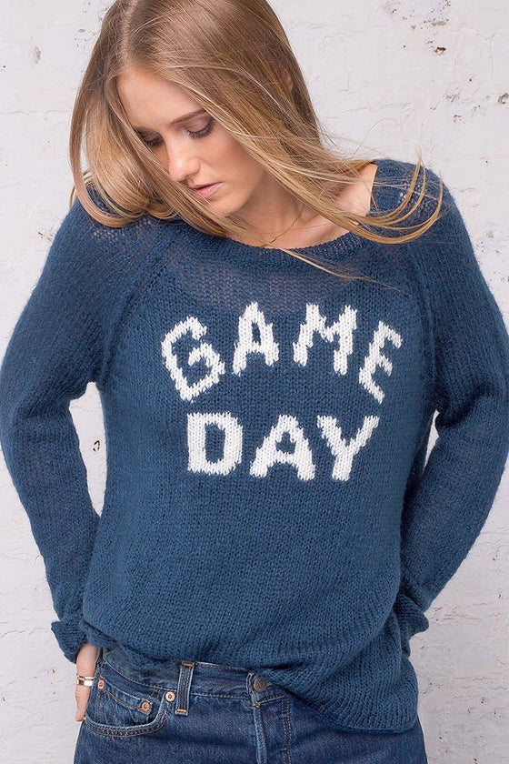 Women's Game Day Raglan Lightweight Sweater | Wooden Ships Knits