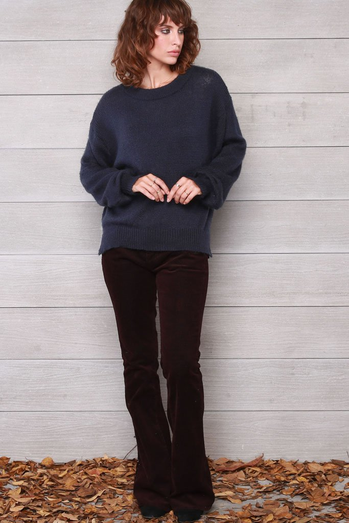 Women's Heidi Crewneck Lightweight Sweater | Wooden Ships Knits