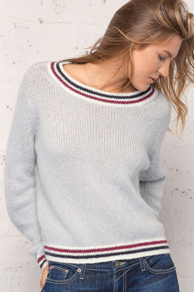 Women's Robbie Sweatshirt Lightweight Sweater | Wooden Ships Knits
