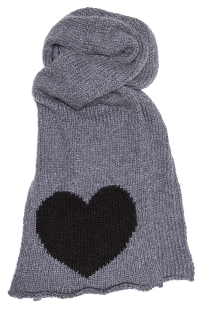 Women's Big Heart Scraf Accessories | Wooden Ships Knits