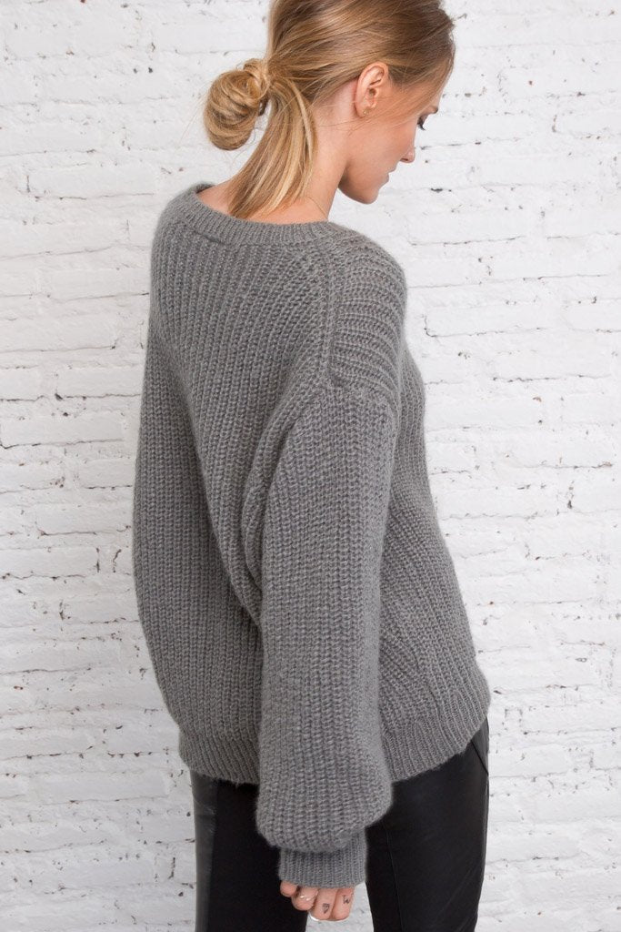 Women's Lily Rose Crewneck Sweater's | Wooden Ships Knits