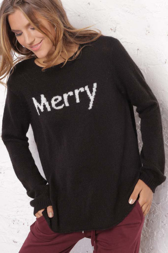 Women's Merry Crewneck Sweater's | Wooden Ships Knits