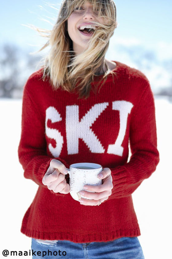 *SALE* Women's Ski Pullover Sweater's | Wooden Ships Knits