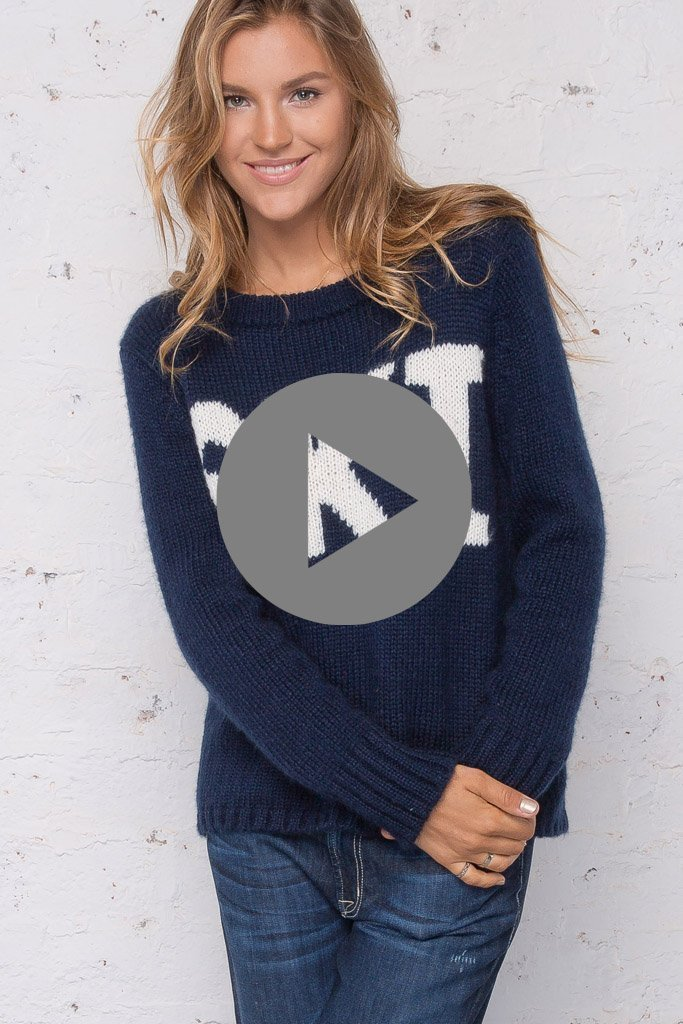 Women's Ski Pullover Sweater's | Wooden Ships Knits
