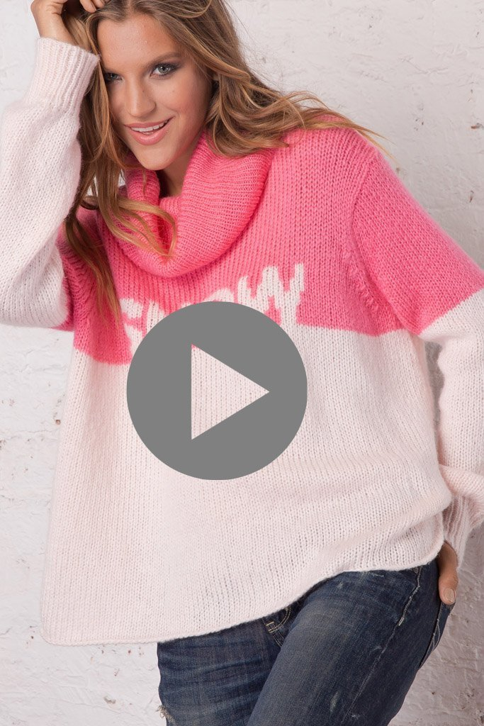 Women's Snow Cowlneck Sweater's | Wooden Ships Knits