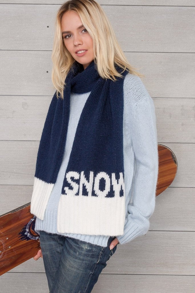 Women's Snow Scraf Accessories | Wooden Ships Knits